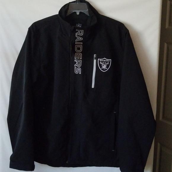 the best attitude 6f4e0 044c9 Oakland Raiders soft shell light jacket